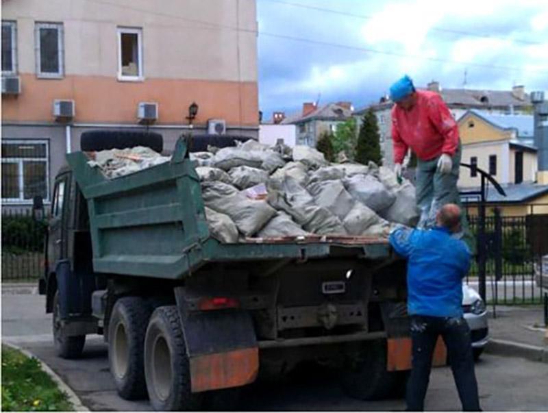 демонтаж та вивіз сміття