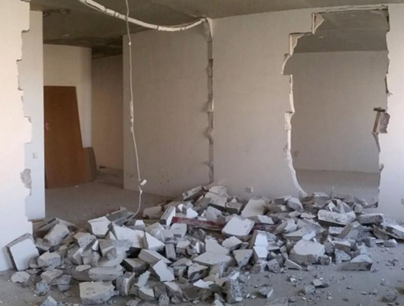 знесення стін