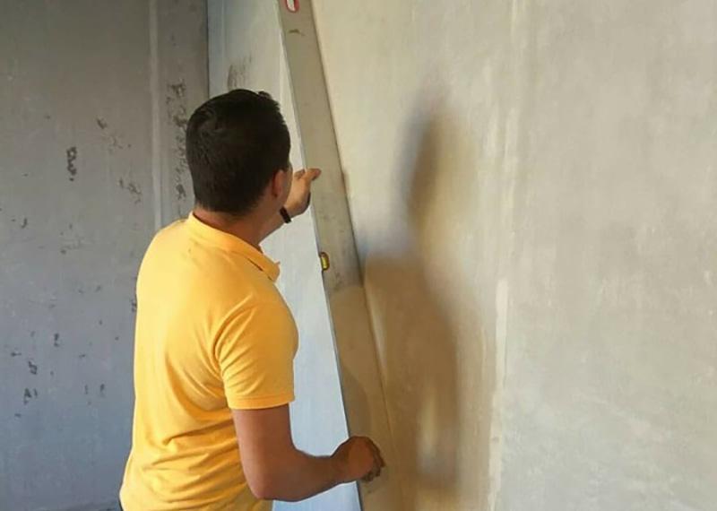 перевірка стіни правилом