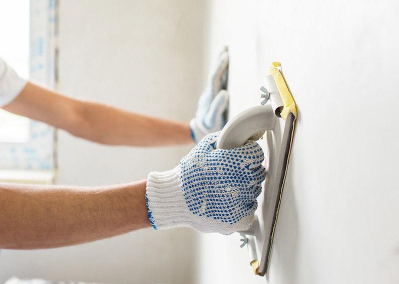 Шпаклювання стіни під фарбування