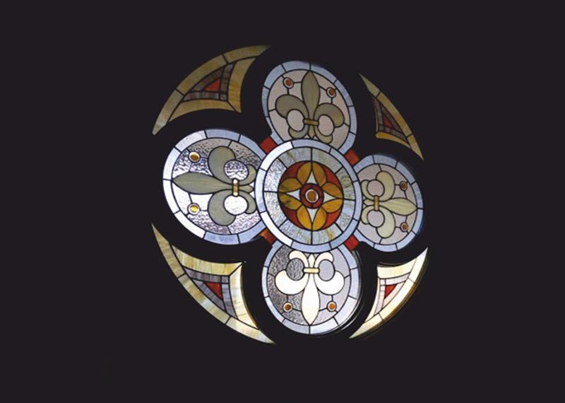 готичний-вітраж-вікно