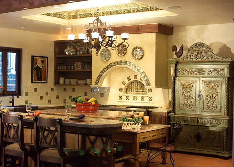 кухня-в-месиканському-стилі