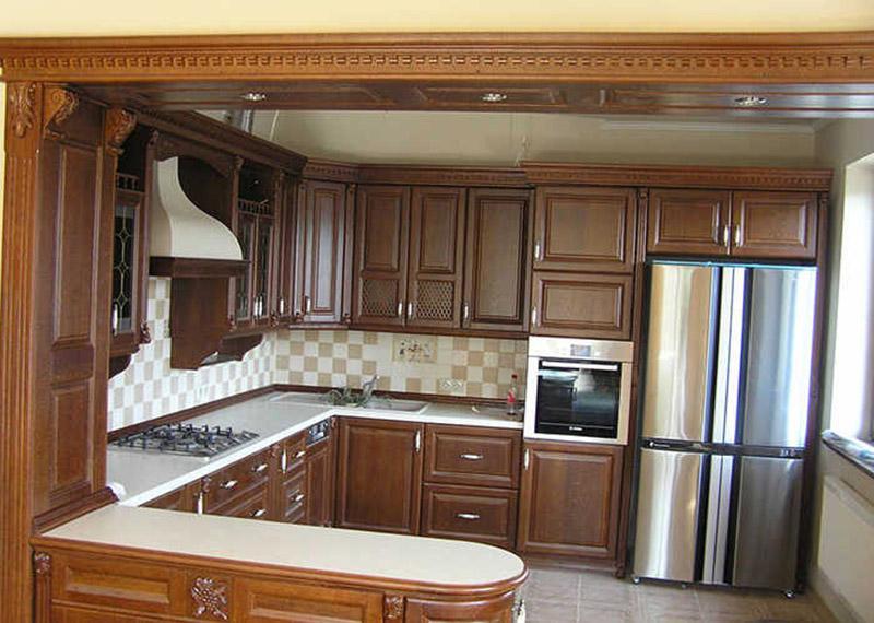 дерев'яний-фасад-кухні