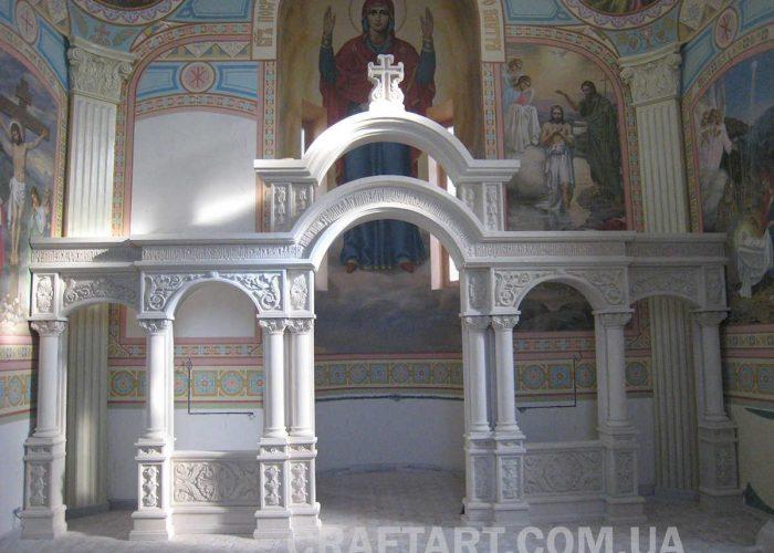 Іконостас,Різьба,Камінь,Вапняк(В.Лоза.,О.Ляхович.,О.Дзиндра(21)